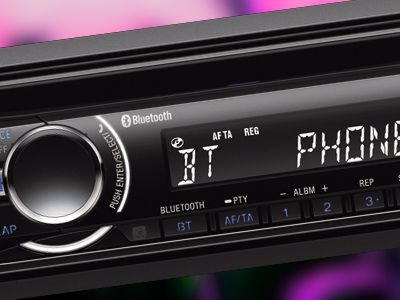 Bluetooth Stereo Controls