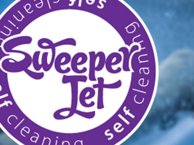 Sweeper Jet Self-Cleaning