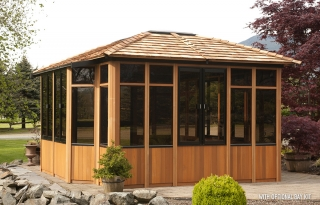 Enclosed gazebos - Enclosed gazebo models ...